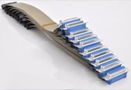 Flachbandkabel mit D-Sub 15pol. Stecker Buchse